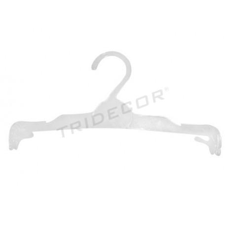 Percha de plástico flexible para lencería 24.5cm, tridecor