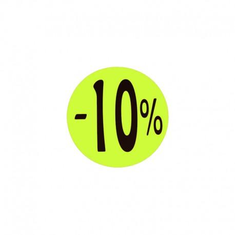 Cartell descomptes ronda. 4x4 cm, amb Diversos percentatges, tridecor
