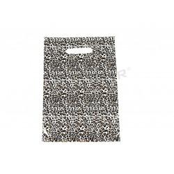 塑料袋里的豹纹与模切处理的25X35CM100个单位
