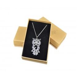 框珠宝的自然色12x16x3cm24个单位