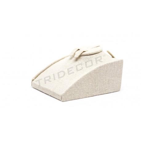 参展商对珠宝麻厚12X8的。5×5厘米