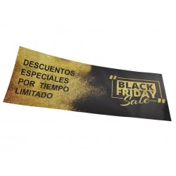 CARTEL BLACK FRIDAY 100X35 CM