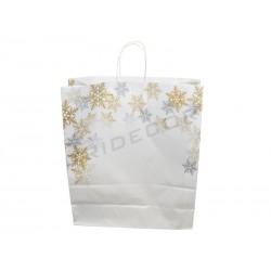 010931-Bolsa papel blanco copos 49x45x15 25 unidades. Tridecor