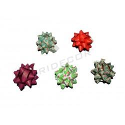 014211 Estrellas adhesivas navidad 5x5x2 cm. Tridecor