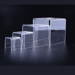 EXHIBITOR ACRYLIC IN FORM C 4 HEIGHTS
