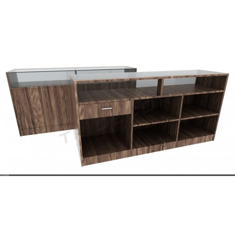 Counter color Amazonia, a number of measures. tridecor