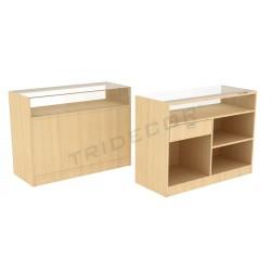 Desk color birch, a number of measures. tridecor
