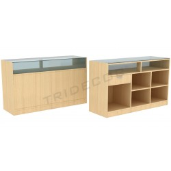 Desk color birch, a number of measures. tridecor
