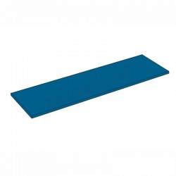 045623 B-AZ Shelf-blue wooden 100x35 cm Tridecor