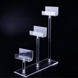 EXHIBITOR ACRYLIC FOR PURSES IN 3 HEIGHTS