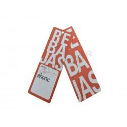 6014022 Etiquetas rebajas 5x12 cm, tridecor