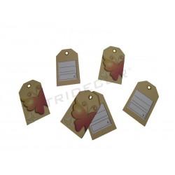 0141012 Etiquetas para ropa mariposa, tridecor