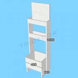 Mueble expositor productos higiene, Tridecor