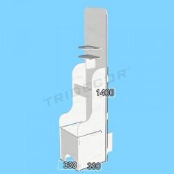 Mueble expositor productos higiene M2, Tridecor