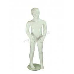 MANNEQUIN CHILD FACTION WHITE LACQUERED
