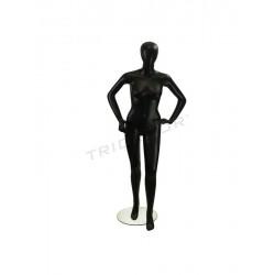 模特的女性色黑色没有派别