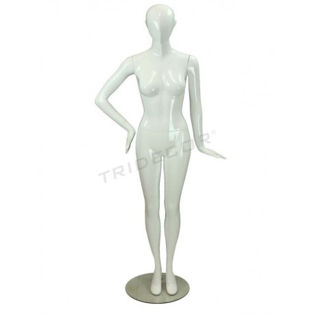 Maniqui women's white brightness without factions, tridecor