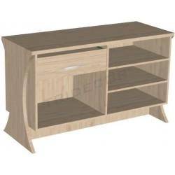 Mostrador madera 150x60x90 cm Tridecor