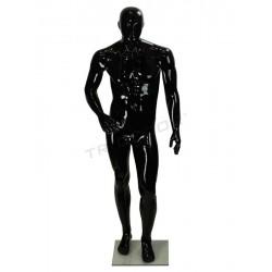 模特的光泽的男人黑色的派别