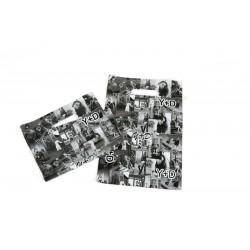 塑料袋中的照片模切处理35X45厘米的黑色和白色的-100个单位