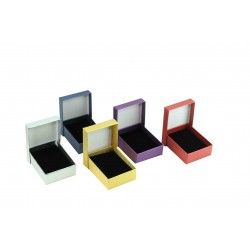 Caja para joyería 7x9x3cm Varios colores 12 unidades, tridecor