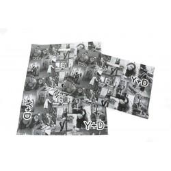塑料袋中的照片模切处理50X60厘米的白色和黑色的-100个单位
