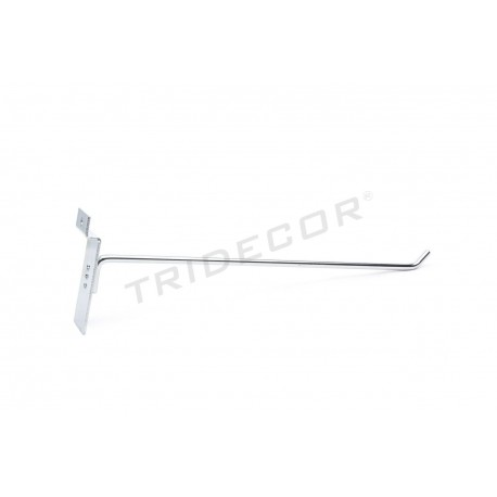 001006 Ganxo penjador per tauler de fulla 30 cm Tridecor