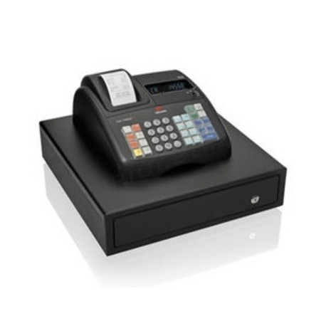 Caixa registradora Olivetti ECR 7700 Eco plus, tridecor