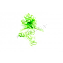 014778 Lazo para regalos verde 25 unidades. Tridecor