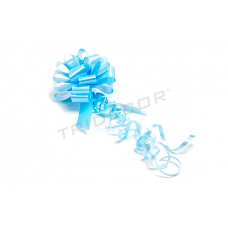Tie to gift automatic light blue 25 units