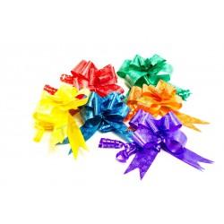 Lazos para agasallos automática de varias cores