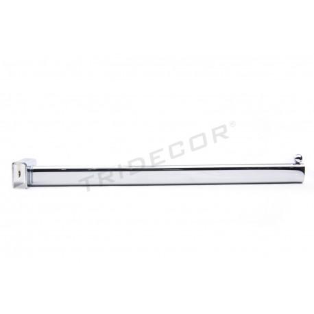 002199 Colgador para barra rectangular, una bola 40 cm. Tridecor