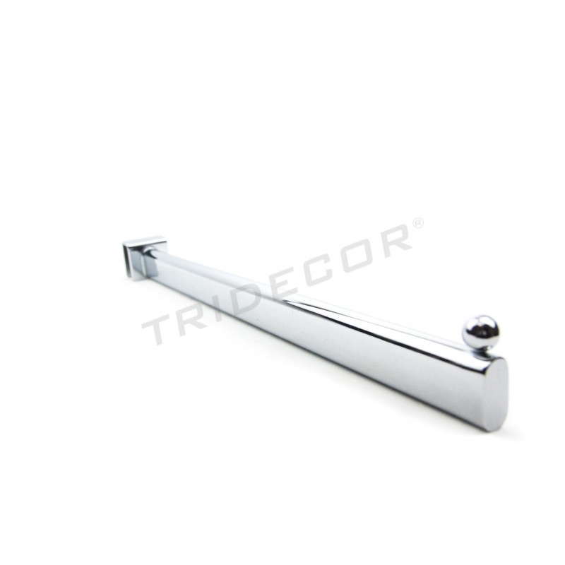 colgador para barra rectangular una bola 40 cm On para desarrollar una estancia rectangular