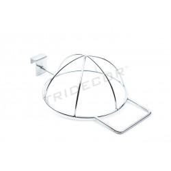 038256 Expositor metálico para gorras . Tridecor