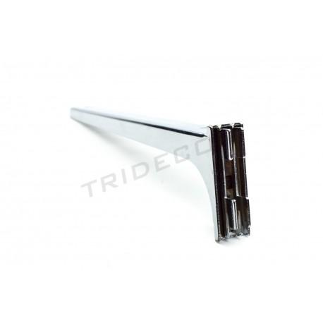 002315 Soportes de estantes para cremallera 35 cm. Tridecor
