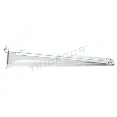 002300 prestatge Suport doble de lama de 40 cm Tridecor