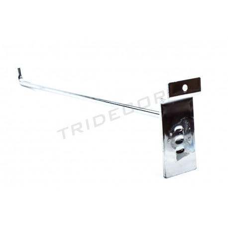 001163 001165 Gancho colgador para lama terminación L 30 cm 8 mm