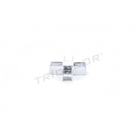 006084 Piezas de unión para tubos 4 salidas. Tridecor