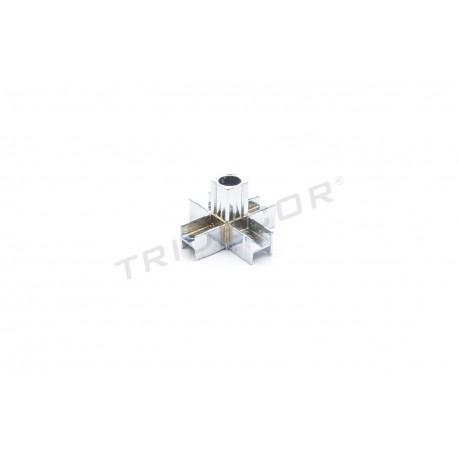 006085 Piezas de unión para tubos 5 salidas. Tridecor
