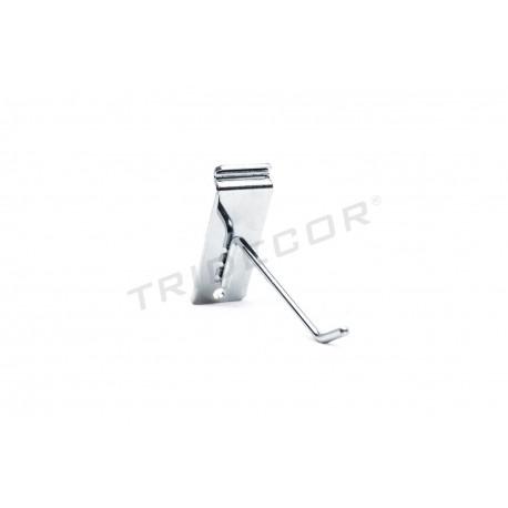 001063 Gancho colgador lama preto de 10 cm Tridecor