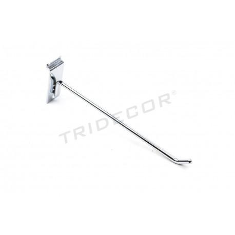 001067 Gancho colgador lama preto de 20 cm Tridecor