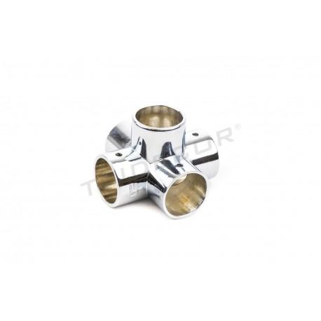 006040 Piezas de unión para tubos 25mm 5 salidas. Tridecor
