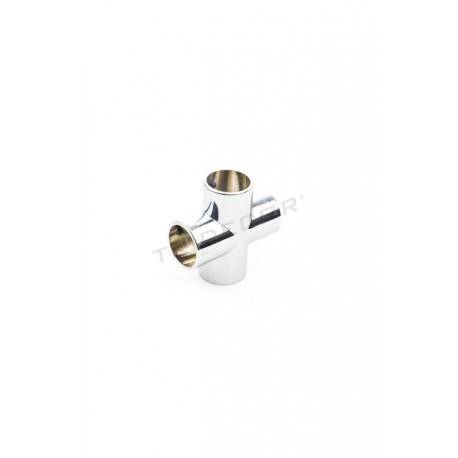 006035 Piezas de unión para tubos 25mm 4 salidas. Tridecor
