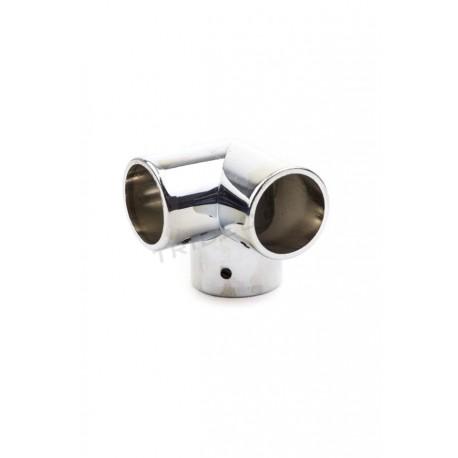 006039 Piezas de unión para tubos 25 mm 3 salidas. Tridecor