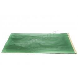 Sulla carta kraft verde scuro, 30x50+8 cm, 50 pz. tridecor