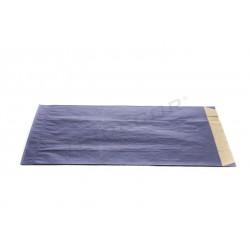 En paper kraft de color blau fosc 7x18x27cm 50 unitats