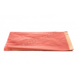 En papel kraft de vermello 7x18x29cm 50 unidades