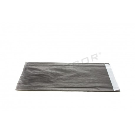 Pasta de papel negro 18+4x29cm 50 unidades