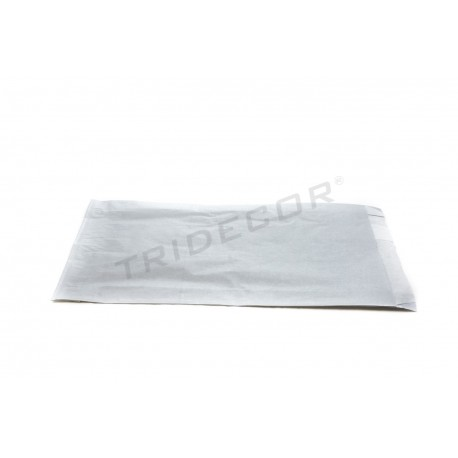 010406 Sobre de papel celulosa plata 100 unidades. Tridecor