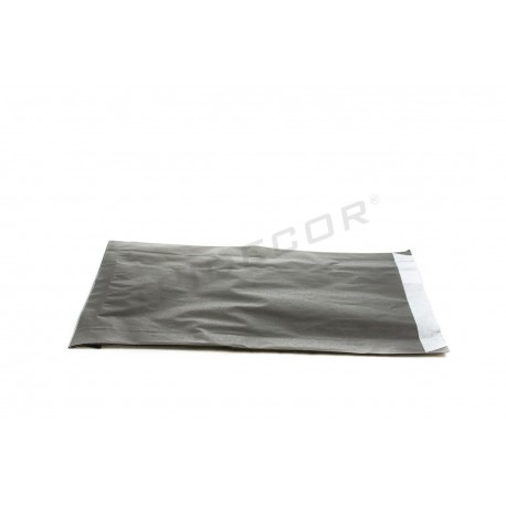 010404 Sobre papel celulosa negro 18x3.5x29 cm. Tridecor